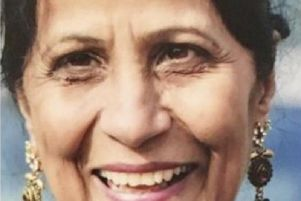 Mito Kaur, 63, was admitted to Glasgow's Queen Elizabeth University Hospital on January 7.