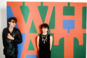 Marc Almond with David Ball in Soft Cell, 1983. Picture: Eugene Adebari/Shutterstock