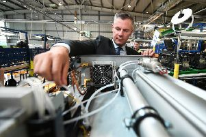 Derek Mackay wants to look at the economy's workings in a new way. Photograph: John Devlin