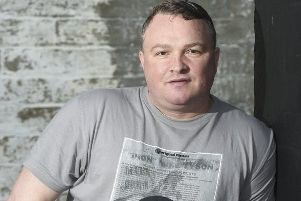 Actor and boxer Bradley Welsh. Picture: Greg Macvean