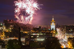 Edinburgh's city-wide Hogmanay celebration is renowned across the country. Picture: Shutterstock