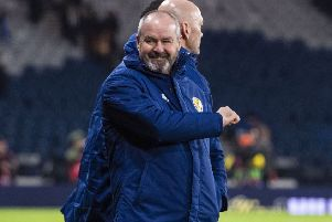 Steve Clarke is aiming to take Scotland to their first major finals since 1998. Picture: SNS.