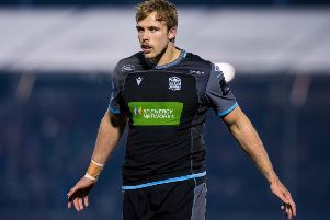 Jonny Gray's move to Exeter has provoked mixed feelings. Picture: Ross Parker / SNS