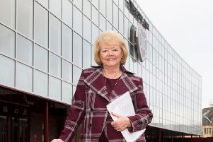 Hearts owner Ann Budge is 'incredibly proud' of the club's new facilities.