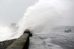 High winds are expected to hit parts of Scotland today. Picture John Devlin