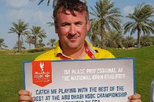 Tom Buchanan, the 2018 winner, is among four Scots in the line up for Sunday's Abu Dhabi HSBC Championship shoot-out at Yas Links