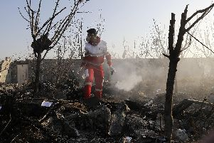 Iranian state television said the crash was because of mechanical issues. Picture: Getty