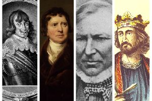 Assassin Count Walter Leslie, advocate and politician Sir Henry Dundas, explorer and mass murderer Angus McMillan and King Edward I have all been nominated by historians as the cruellest figures in Scottish history. PICS: Creative Commons.
