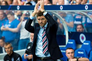 Steven Gerrard spoke about the prospect of Celtic and Rangers joining the English Premier League