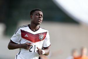 Wolfsburg striker Charles-Jesaja Herrmann is a Germany U19 international. Picture: Getty Images