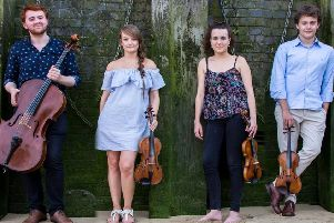 The Fitzroy String Quartet, set to play for Melrose Music Society on Saturday, January 18.