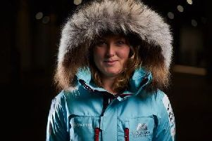 Mollie Hughes before she set off. Picture: Hamish Frost