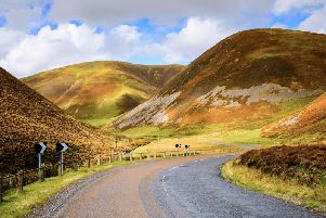 The road to Mennock in Dumfries and Galloway sits on the new South West Coast 300 (SWC300) which aims to drive tourism into this lesser-travelled corner of Scotland. PIC: VisitScotland/Damian Shields.