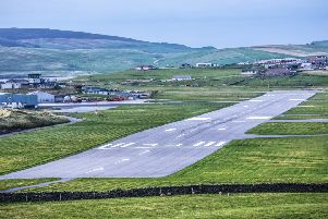Loganair has been criticised for the cost of its Sumburgh to Edinburgh flight. Picture: TSPL