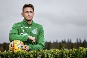 Scott Allan is looking forward to next weekend's Scottish Cup fourth-round tie against Dundee United, one of his former clubs. Photograph: Bruce White/SNS