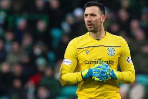 Ofir Marciano has insisted he is happy at Hibs, having regained the No.1 spot under Jack Ross