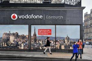 Vodafone 5G goes live in Edinburgh promising more reliable and responsive internet service