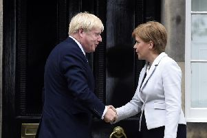 Boris Johnson has written to Nicola Sturgeon refusing her request for a second independence referendum.