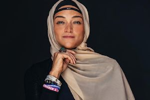 Athlete and activist Manal Rostom rose to fame after founding the Surviving Hijab group. Picture: Contributed