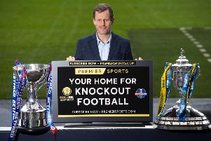 Harald Brattbakk previews Premier Sports' Scottish Cup coverage. Picture: Gary Hutchison / SNS