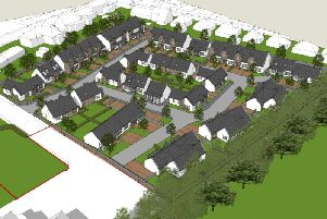 The Juniper Residential development will comprise a mix of 41 houses and flats. Image: Contributed
