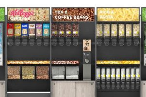 Asda's new sustainability store will allow customers to refill their own containers with branded goods.