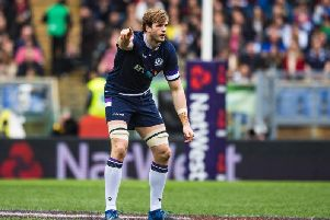 Richie Gray is leaving Toulouse to rejoin Glasgow Warriors. Picture: SNS