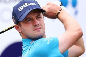 David Law finished birdie-birdie for a two-under 70 in the first round of the Abu Dhabi HSC Championship