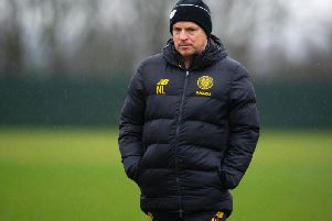 Neil manager Neil Lennon is closing in on his second major January signing. Picture: SNS