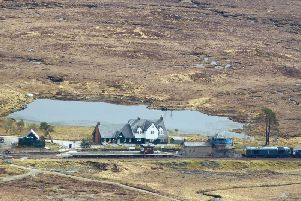 The Station House at Corrour station is looking for summer staff. PIC: The Corrour Estate.