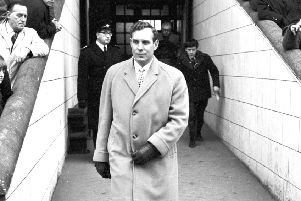 Scotland manager Bobby Brown at Tynecastle in 1967.