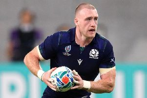 Stuart Hogg will hope to emulate some of Scotland's great full-back captains. Picture: Adam Davy/PA