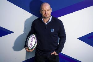 Scotland head coach Gregor Townsend. Picture: Gary Hutchison / SNS