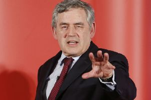 Former Prime Minister Gordon Brown says fundamental change to the UK is required to stop people voting for Scottish independence. PIC: PA