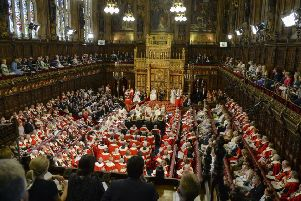 The House of Lords. Pic: Arthur Edwards/The Sun/PA Wire