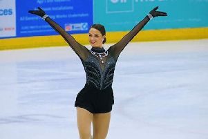 Natasha McKay from Dundee will compete in the ladies' solo category at the European Figure Skating Championships.