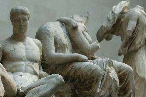 Sculptures from the Parthenon in Athens have been kept in the British Museum in London for more than 200 years (Picture: Matthew Fearn/PA)