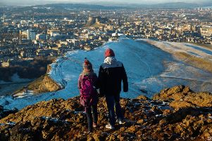 """The condition of grasslands on Arthur's Seat in Edinburgh - a site of special scientifc interest - are ranked as """"unfavourable"""" by Scottish Natural Heritage. Picture: Scott Louden"""