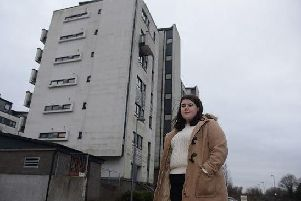 Devastated young Edinburgh couple forced to take flat off market after report reveals cladding makes it 'unsellable'