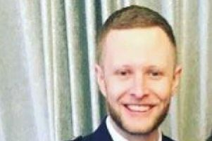 Tributes have been made to Jamie Lynch, a policeman found dead after falling from Clackmannanshire Bridge on Sunday picture: Social Media