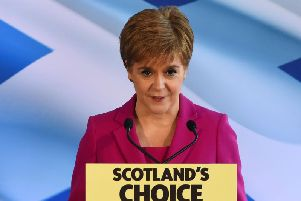A spokesman for the First Minister confirmed she will set out the Scottish Government's plans next week.