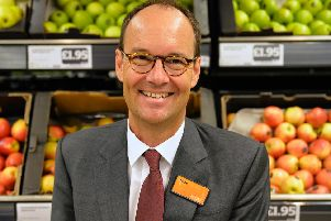 CEO Mike Coupe is set to depart at the end of May. Picture: Sainsbury's