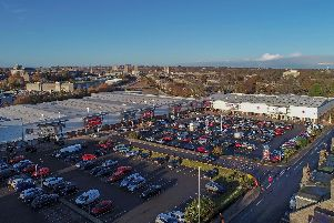 The Kittybrewster Retail Park in Aberdeen is among the assets owned by the group. Picture: Contributed