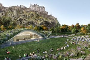 The new-look West Princes Street Gardens would host up to 15 major events each year under a business plan for a 25 million revamp of the park.