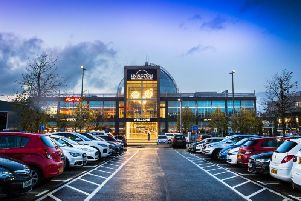 Livingston Designer Outlet reported sales growth of 12 per cent for the final six-week Christmas trading period of 2019. Picture: Contributed