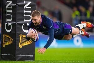 Finn Russell could miss the whole of the Six Nations tournament