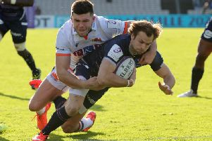 Edinburgh will head to Bordeaux again in the European Challenge Cup quarter-finals. They lost 32-17 in France earlier this month. Picture: Getty Images