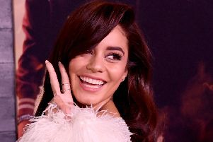 Vanessa Hudgens discovered Scotland's capital is not pronounced 'Edin-burg' (Picture: Kevin Winter/Getty Images)