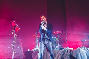 Frontman Ricky Wilson is more than just a rock singer. PIC: Myles Wright/ZUMA Wire/Shutterstock