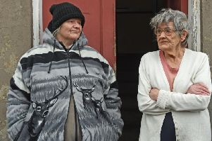 """Neighbours of Ms Grant Robina Burke, 81, and Elaine Burke, 57, said Ms Grant was a 'beautiful soul' who 'wouldn't hurt a fly."""""""